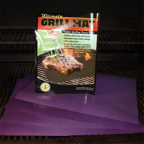 Ultimate Innovations 2302 NonStick Grill Mat Set - 5 Piece