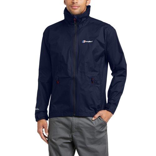 Berghaus Waterproof Stormcloud Men's Outdoor Hooded Jacket available in Dusk/Dusk - Small