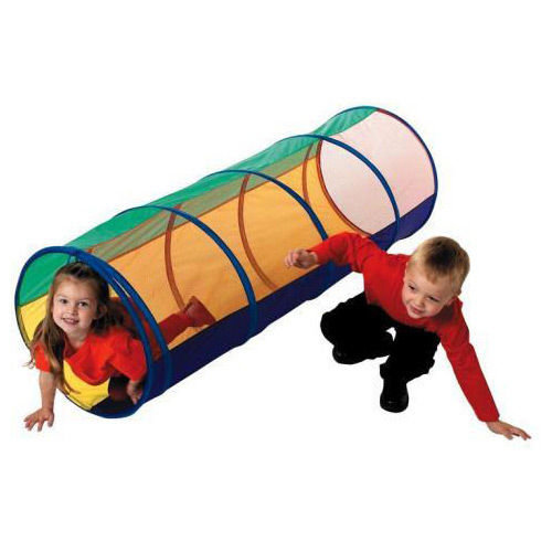 1.5M POP UP POPUP TUNNEL WITH CLEAR MESH AND CARRY CASE KIDS / BOYS / GIRLS