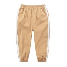 Comfortable Soft Children's Trousers, Khaki And White