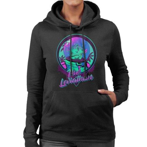 Fortnite The Leviathan Neon Women's Hooded Sweatshirt