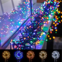 Winter Workshop LED Cluster Christmas Lights Multi Functional Timer In & Outdoor