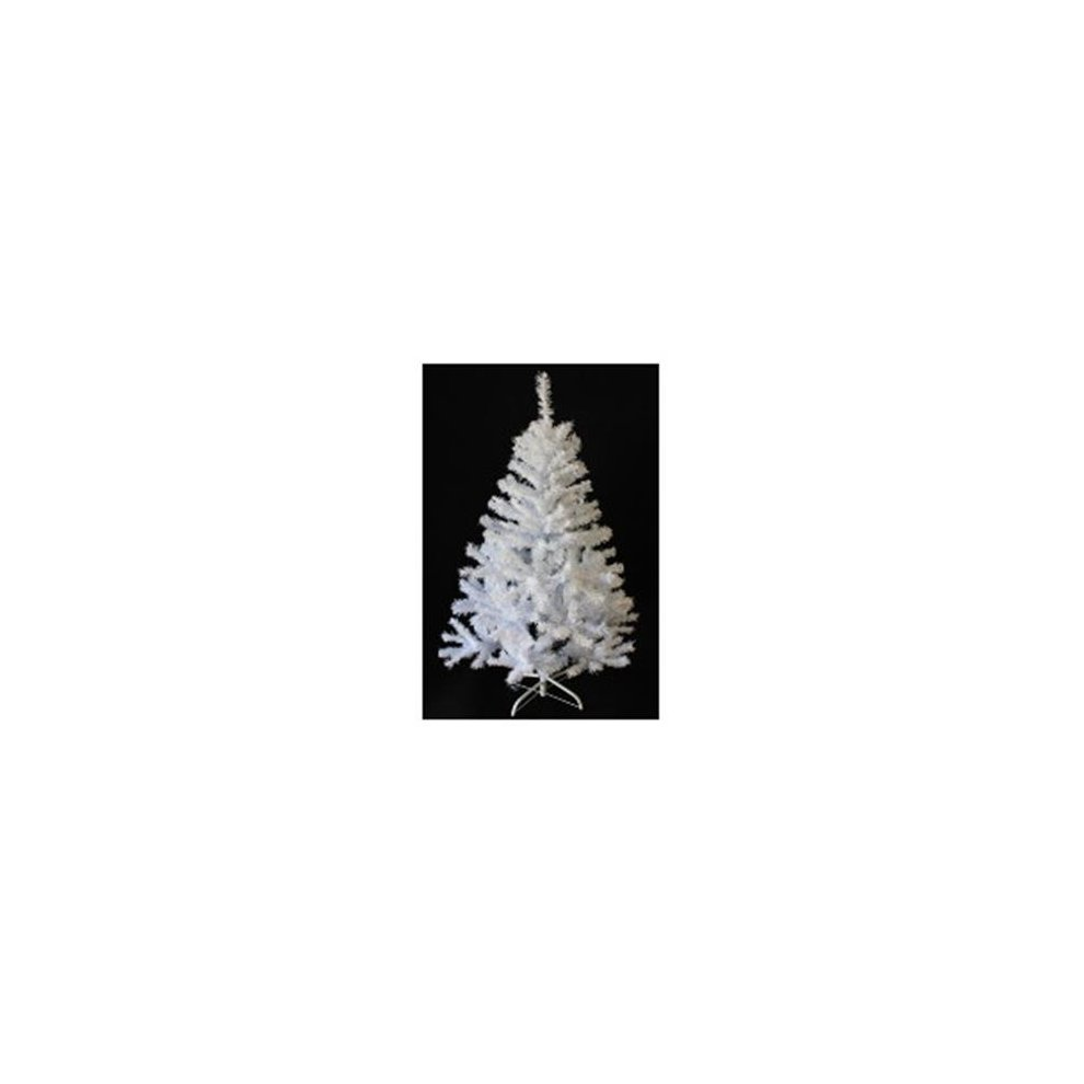 Perfect Holiday Pvcw 7 7 Ft Pvc White Christmas Tree On Onbuy