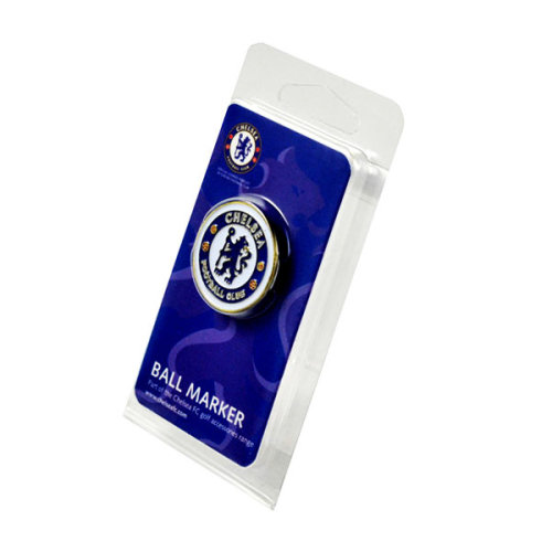 Chelsea Fc Golf Ball Marker - Official Metallic Foot Club Genuine Licensed - Chelsea Fc Official Golf Ball Marker Metallic Football Club Genuine