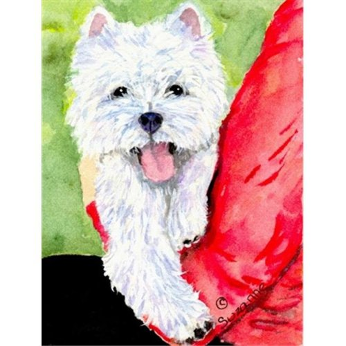 Carolines Treasures SS8784CHF 28 x 40 in. Westie House Size Canvas Flag